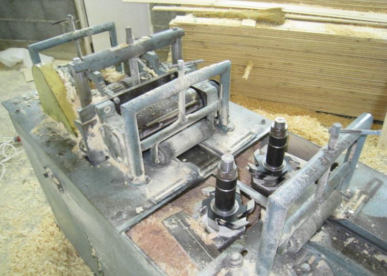 Изготовление вагонки в домашних условиях на самодельном станке