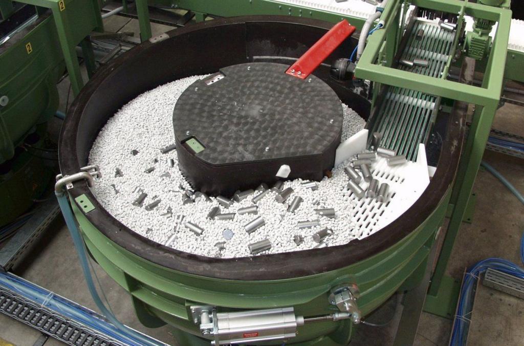 Оборудование для галтовки металла