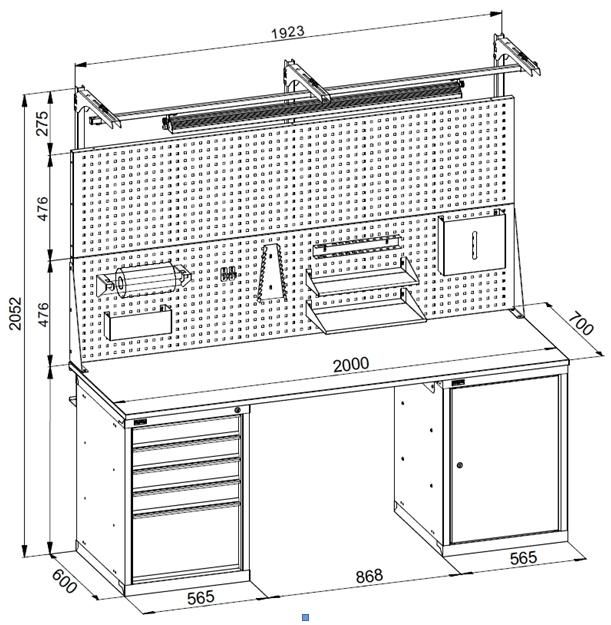 Столярный верстак своими руками – подробный чертеж и инструкция